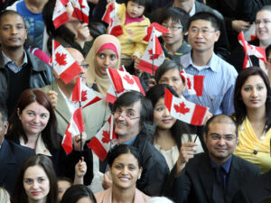 the process to become a Canadian citizen